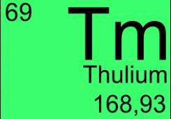 Легированные ионами тулия