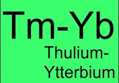 Легированные ионами тулия и иттербия
