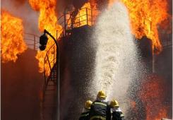 Система обнаружения пожара в нефтехимической промышленности