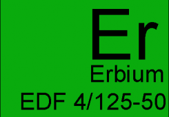 Волокно оптическое легированное эрбием EDF 4/125-50