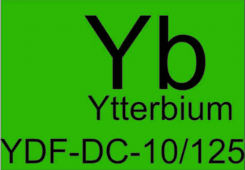 Волокно оптическое легированное иттербием YDF-DC-10/125