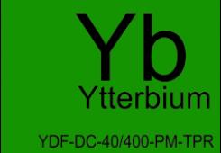 Волокно оптическое легированное иттербием конусное YDF-DC-40/400-PM-TPR-2.5-А