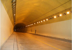Fire safety system in tunnels (FBG)
