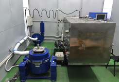 High-temperature combined vibration test system
