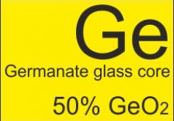 Волокно оптическое с сердцевиной из германатного стекла GDF-SM-3.5/125-50