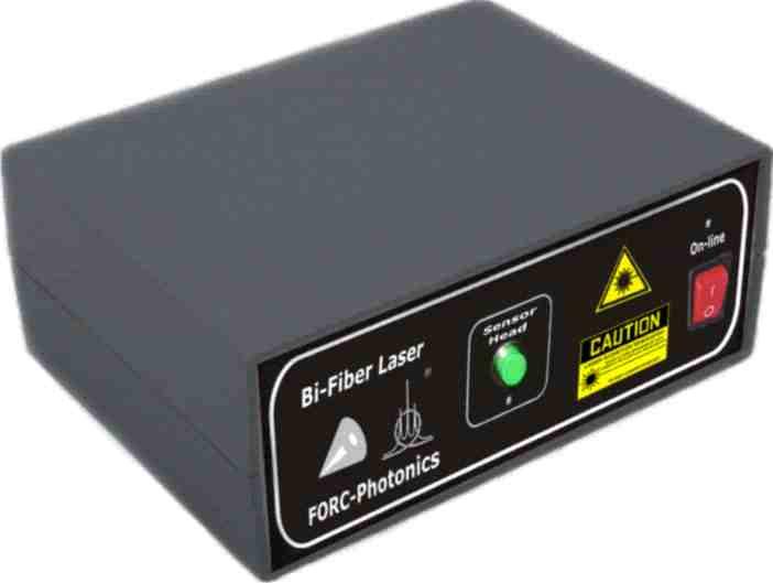 Одномодовый непрерывный висмутовый лазер