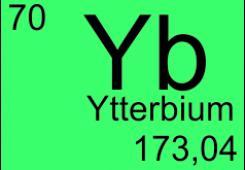 Ytterbium doped fibers