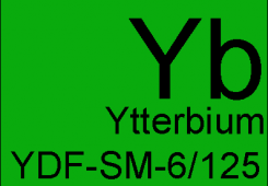 Ytterbium doped single mode fibers YDF-SM-6/125