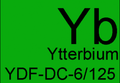 Ytterbium doped double clad fiber YDF-DC-6/125