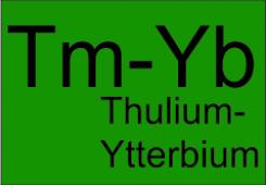 Thulium-Ytterbium double clad fibers TYDF-DC-7/125