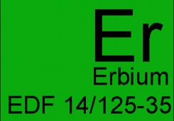 Легированное эрбием EDF 14/125-35