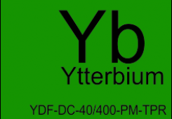 Ytterbium doped double clad polarization-maintaining TAPERED fiber YDF-DC-40/400-PM-TPR