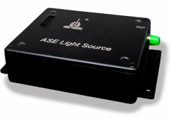 Fiber broadband light sources 1055-1085 nm