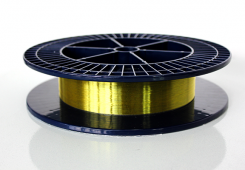 Волоконные решетки Брэгга в оптическом волокне с полиимидным покрытием